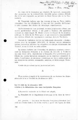 France, Law no. 71-1060 concerning the delimitation of French territorial waters