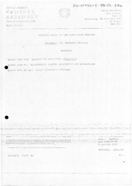 United Nations General Assembly, Thirty-eighth session, First Committee, Summary record of the 46th meeting (A/C.1/38/PV.46)