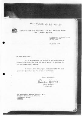Australia, Report of the Committee on Australia's Relations with the Third World