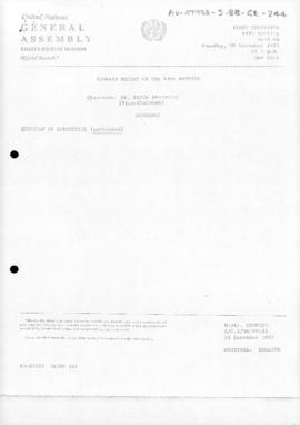 United Nations General Assembly, Thirty-eighth session, First Committee, Summary record of the 44th meeting (A/C.1/38/PV.44)