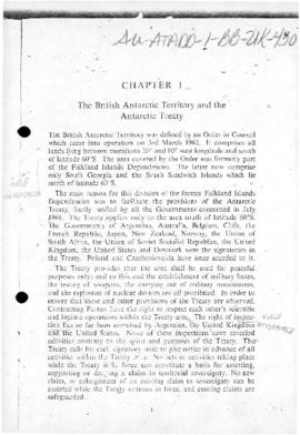 United Kingdom, the British Antarctic Territory and the Antarctic Treaty