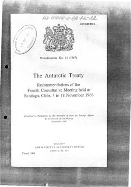 Fourth Antarctic Treaty Consultative Meeting, Santiago