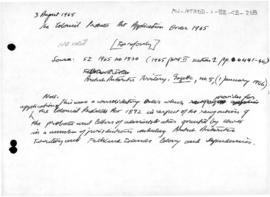 British Antarctic Territory, Colonial Probates Act Application Order 1965