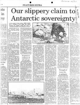 "Ward, Peter ""Our slippery claim to Antarctic sovereignty"" Australian"