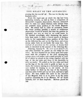 Account of the claim made by Professor Edgeworth David to the area of the South Magnetic Pole