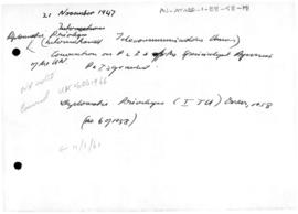 Falkland Islands, Diplomatic privileges order and related orders