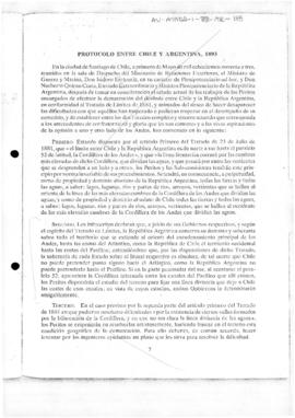 Articles II and IV of the Protocol between the Government of the Argentine Republic and the Government of the Republic of Chile