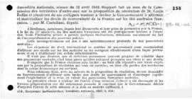 Parliamentary report on the steps to be taken to consolidate French title to French southern Isla...