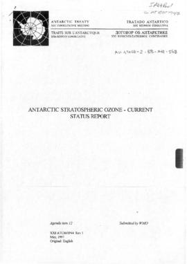 Twenty-first Antarctic Treaty Consultative Meeting (Christchurch) Information paper 44 Revision 1...