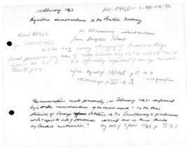 Argentine memorandum to the British Embassy