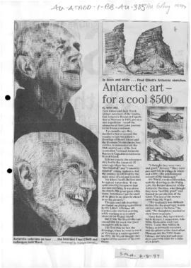 "Bui, Minh ""Antarctic art – for a cool $500"" Sydney Morning Herald"