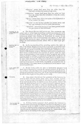 Falkland Islands, Land Ordinance, no 9 of 1903