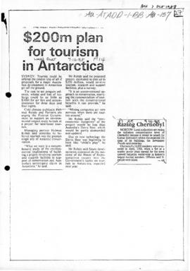 """$200m plan for tourism in Antarctica"" West Australian"