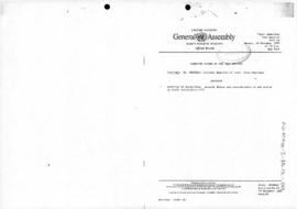 "United Nations General Assembly, Forty-fourth Session, First Committee, Verbatim Record of the 42nd Meeting ""Question of Antarctica: general debate and consideration of and action on draft resolution"" (A/C.1/44/PV.42)"