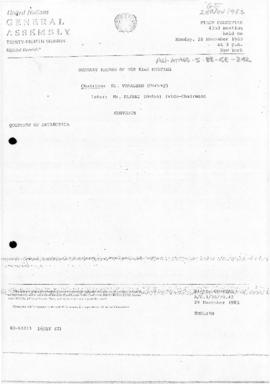 United Nations General Assembly, Thirty-eighth session, First Committee, Summary record of the 42...