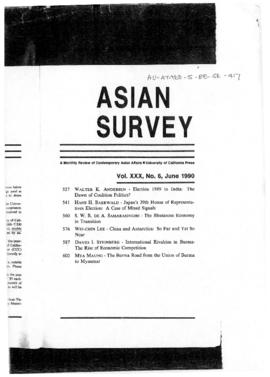 "Wei-Chin Lee ""China and Antarctica: so far and yet so near"" Asian Survey"