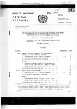 United Nations General Assembly, 23rd session, Official Records of the General Assembly concerning independence for colonial countries and peoples