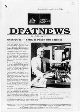 "Australia, Department of Foreign Affairs and Trade ""Antarctica - Land of peace and science"" DFATnews"