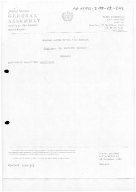 United Nations General Assembly, Thirty-eighth session, First Committee, Summary record of the 43...