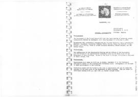 "Tenth Antarctic Treaty Consultative Meeting (Washington) Information paper ""General informat..."
