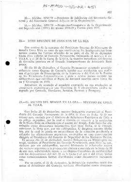 Chilean speeches to the Permanent Council of the Organization of American States