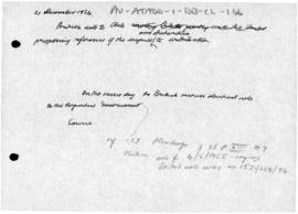 British note to Chile proposing arbitration of the Antarctic dispute