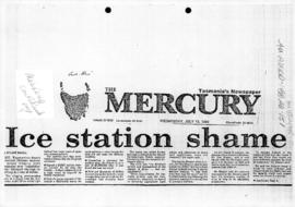 "Diwell, Stuart ""Ice Station Shame"" The Mercury"