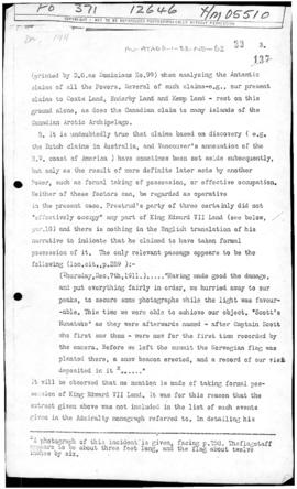 Document relevant to Amundsen reaching the South Pole, 1911