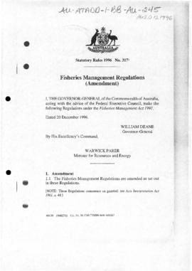 Fisheries Management Regulations