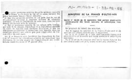 Decree no. 56-935 concerning the administrative organisation of French Southern and Antarctic Lands