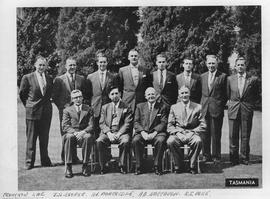 Group photograph, Tasmanian Conference