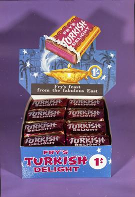 Fry's Turkish Delight display