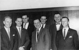 Smiling group of men