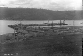 Construction of new Risdon wharf