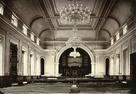 Interior of Town Hall, Hobart