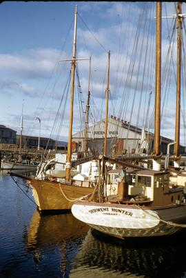 Derwent Hunter and Premier at Hobart docks
