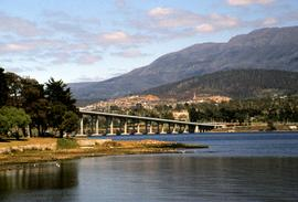 Derwent River and Tasman Bridge