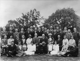 "Representatives Conference Garden Party at Thos. E. Coopers residence ""Chigwell"""