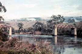 Gap across River Derwent at Macquarie Plains bridge