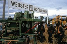 Machinery at Launceston Show