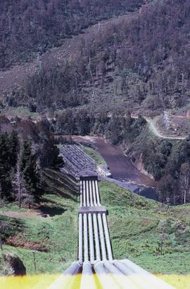 Headrace at Tarraleah Power Station