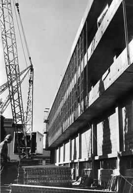 Multi-story building under construction