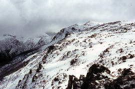 K Col from Mount Dawson 1963