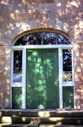 Front door of Sherwood at Hollow Tree