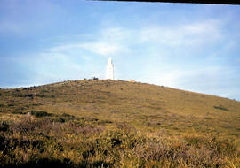 View of lighthouse at Cape Bruny