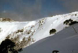 Golden Stairs ski run at Mount Mawson