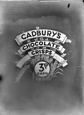 Advertisement for Cadbury's Chocolate Crisps