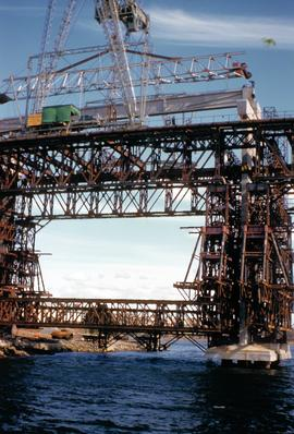 Building Tasman Bridge 1962