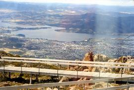 Glenorchy from Mount Wellington