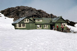 Northern Tasmanian Alpine Club hut on Ben Lomond